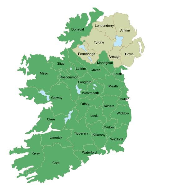 Mar 2018 Ireland