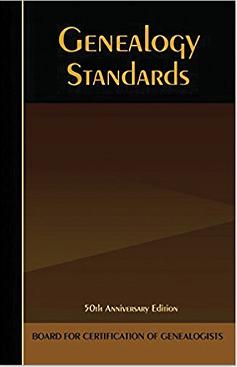 BCG, Genealogy Standards