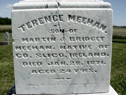 Terence Meehan grave